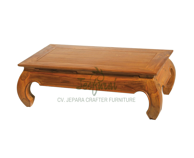 Indonesia Furniture Teak Indoor Coffee Tables and Side Table