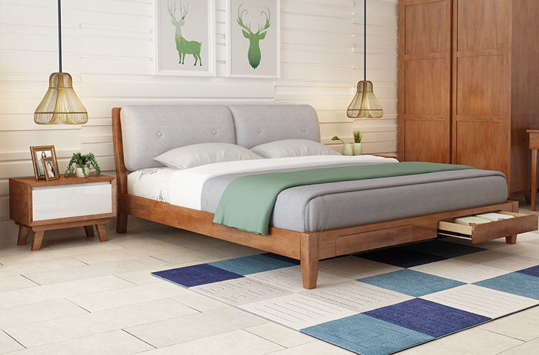 Simple Modern Bedroom Furniture Practical and Convenient