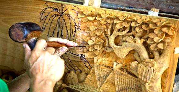 wood carving center